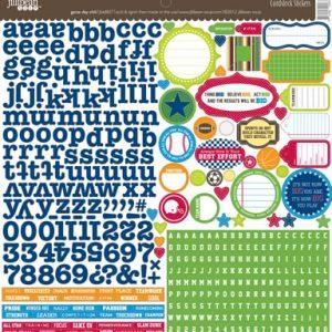 Jillibean Soup - Game Day Chilli - Cardstock Sticker